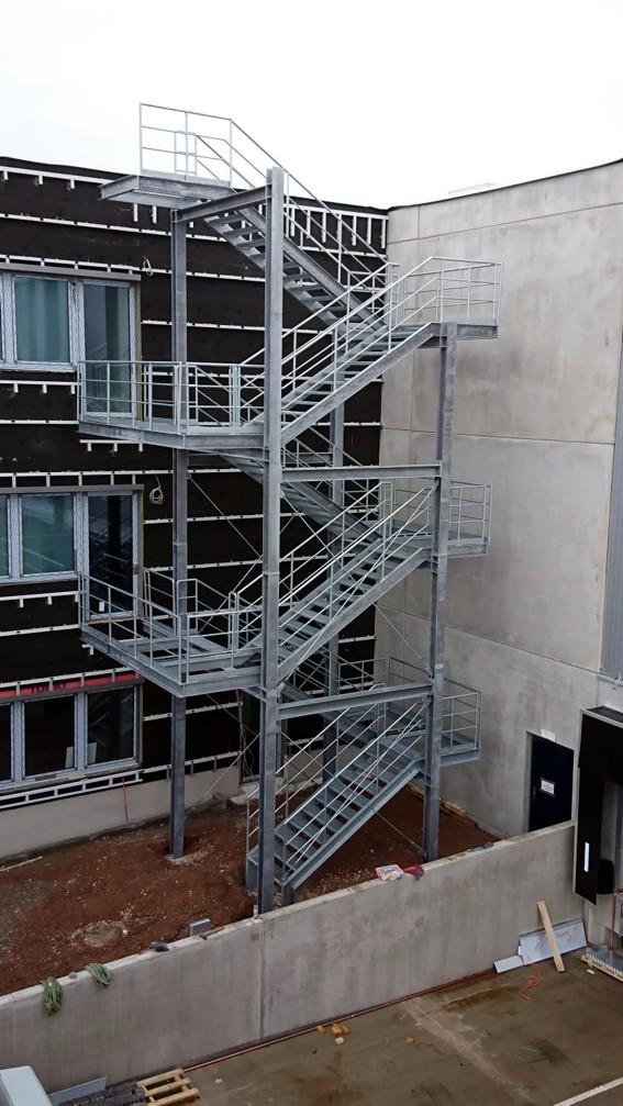 Fluchttreppe Nagel